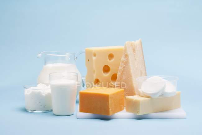 Various milk products — Stock Photo