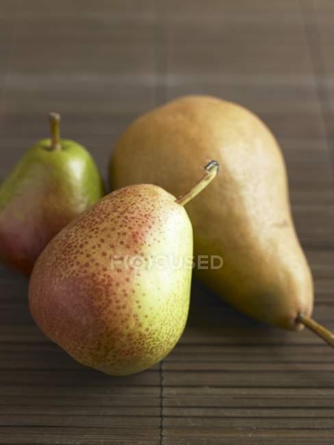 Peras maduras diferentes — Fotografia de Stock