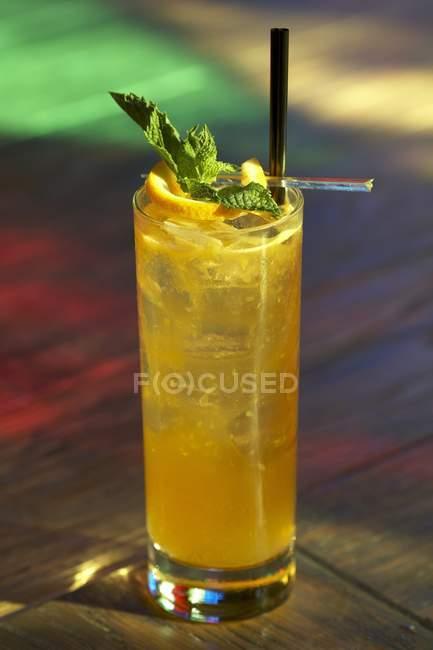 Cingapura Sling Cocktail — Fotografia de Stock