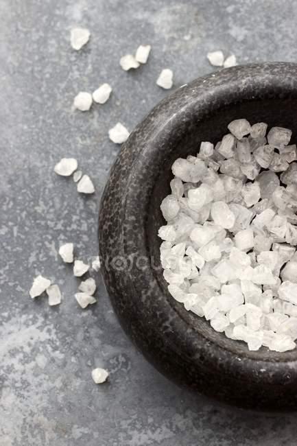 Морські кристали солі — стокове фото
