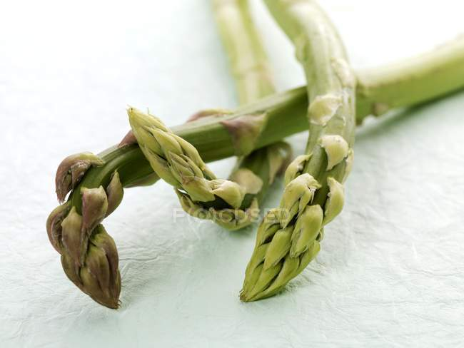 Green raw asparagus — Stock Photo