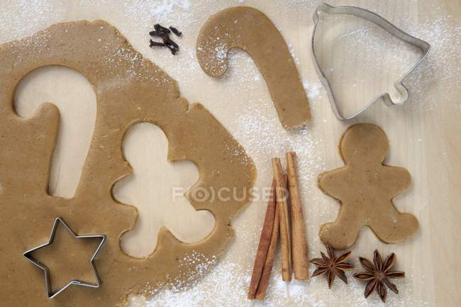 Candy e gingerbread Man — Foto stock