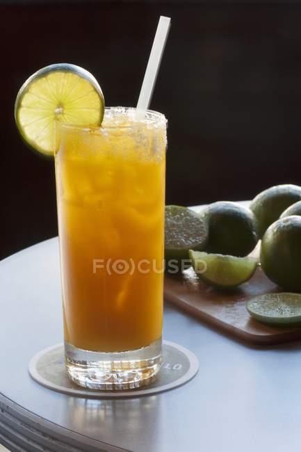 Orangensaft-Cocktail — Stockfoto