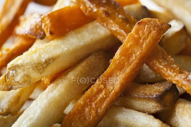 Frites de patate douce — Photo de stock