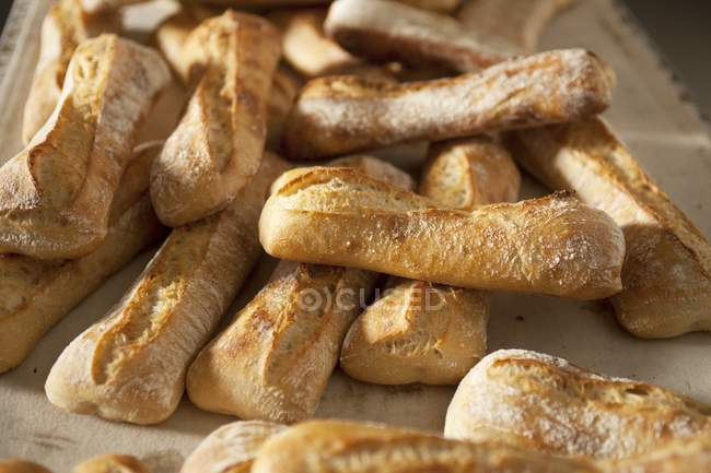 White bread loaves — Stock Photo