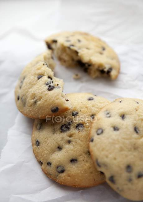Galletas de chocolate - foto de stock
