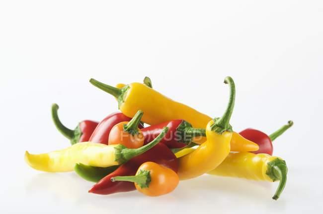 Piments colorés — Photo de stock