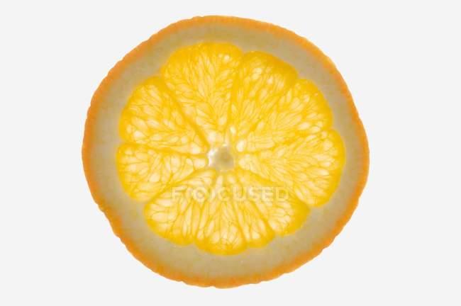 Rebanada de mandarina naranja - foto de stock