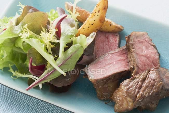 Carne de res filete - foto de stock