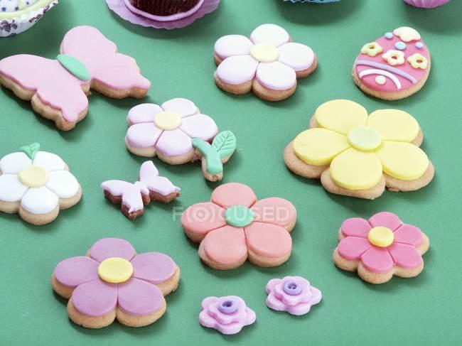 Varias galletas de Pascua - foto de stock