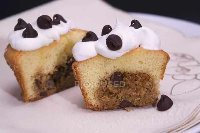 Тесто шоколадного печенья — стоковое фото