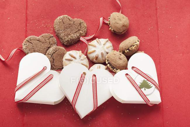 Assorted Christmas cookies — Stock Photo