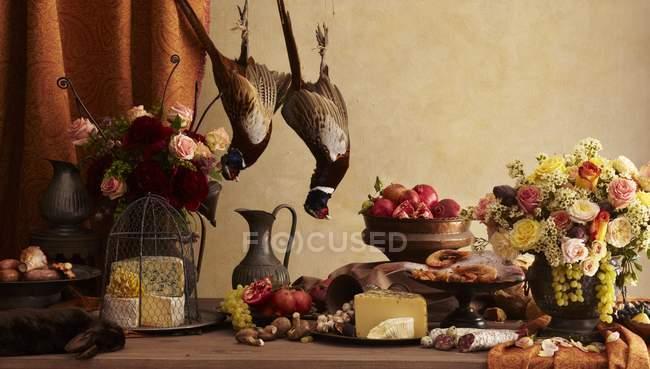 Natura morta rustica — Foto stock
