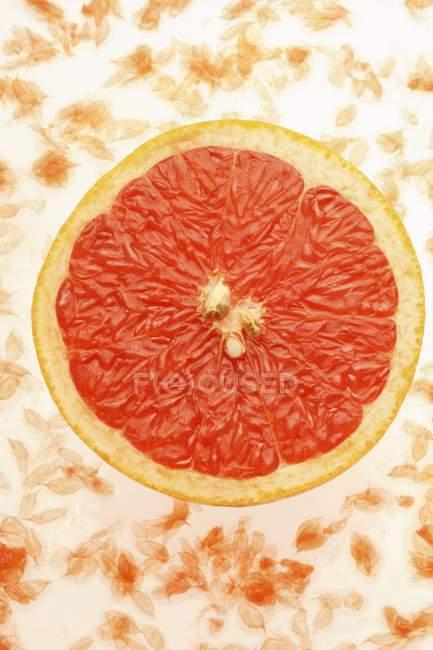 Fresh Half of grapefruit — Stock Photo