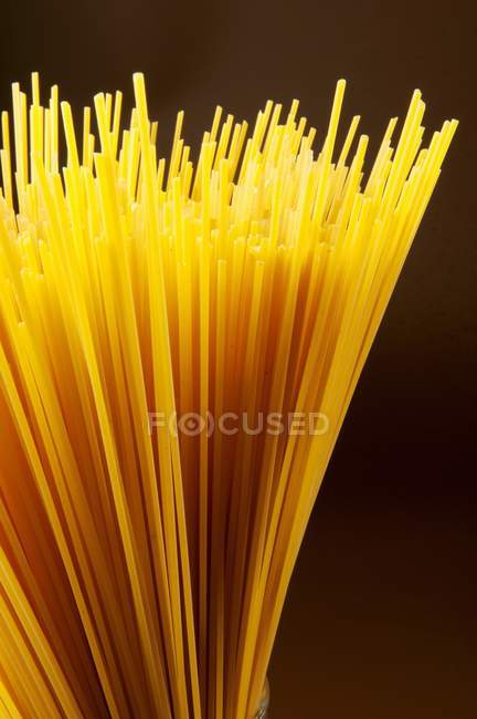 Bunch of raw spaghetti — Stock Photo