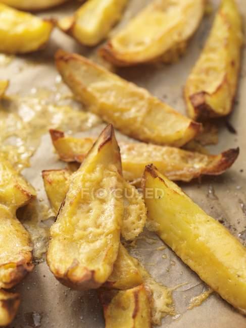 Cascas de batata cozidas — Fotografia de Stock
