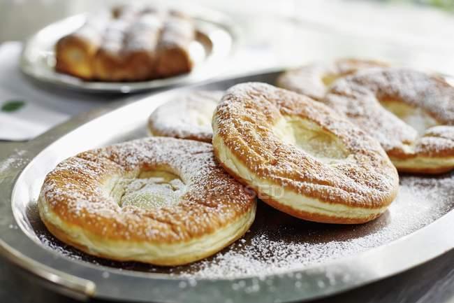 Баварском стиле пончики — стоковое фото
