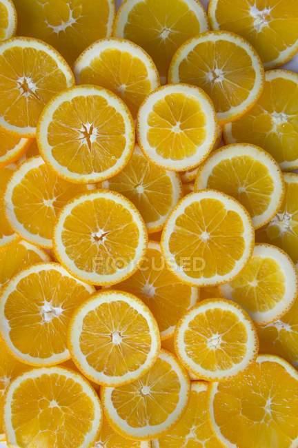 Tranches d'orange mûres — Photo de stock