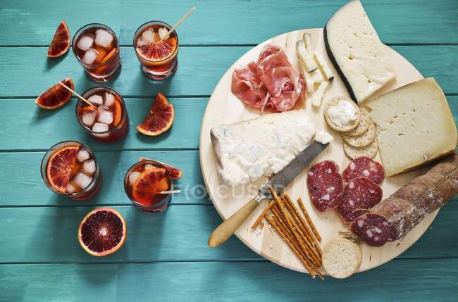 Итальянское блюдо ассорти — стоковое фото
