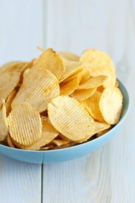 Chips de pomme de terre au paprika — Photo de stock