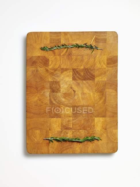 Rametti di rosmarino fresco — Foto stock
