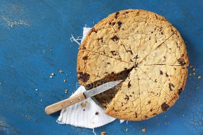 Шоколад чип печенье пирог — стоковое фото