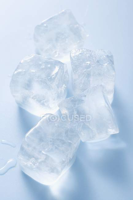 Five  ice cubes — Stock Photo
