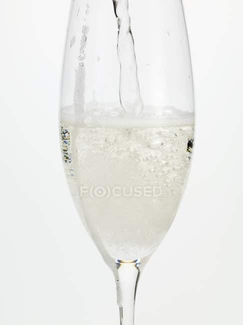 Copo de vinho espumante — Fotografia de Stock