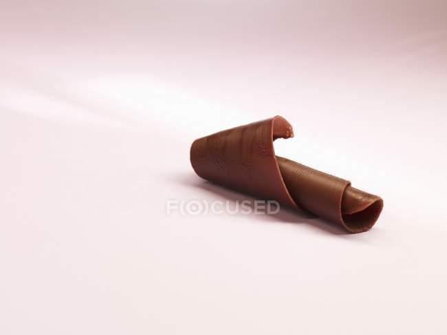 Cachos de chocolate escuro — Fotografia de Stock