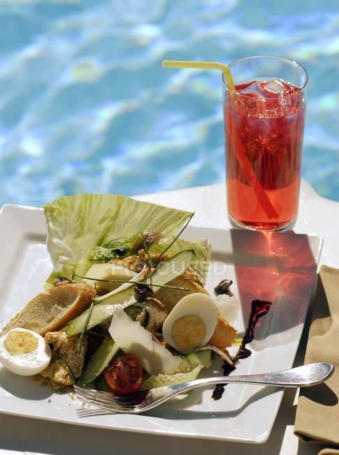 Succo e nioise Salade — Foto stock
