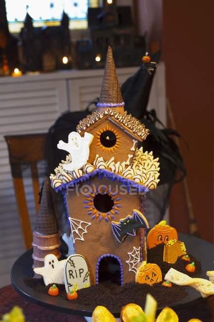 Halloween assombrado de gengibre — Fotografia de Stock