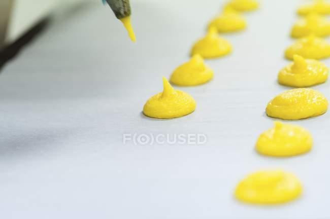 Miscela per amaretti gialli — Foto stock
