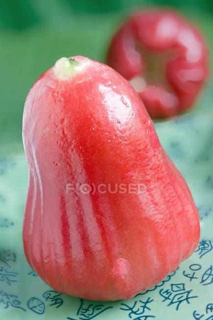 Rote Rose Apfel — Stockfoto