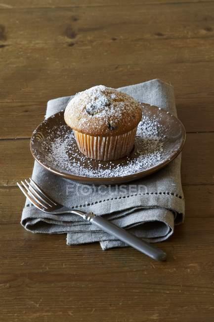 Булочки, посыпанный сахарной пудрой — стоковое фото