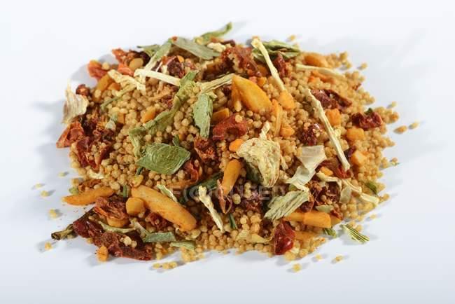 Інгредієнти для Кус-кус блюдо — стокове фото