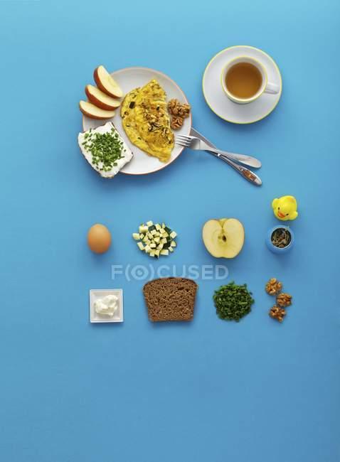 Desayuno saludable para niños - foto de stock