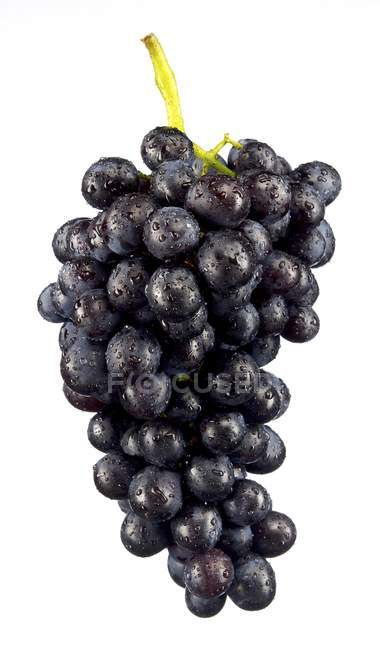 Bunch of fresh red grapes — Stock Photo
