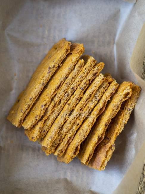 Vegan клейковини хліб — стокове фото