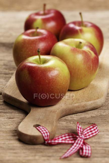 Maçãs frescas Braeburn — Fotografia de Stock