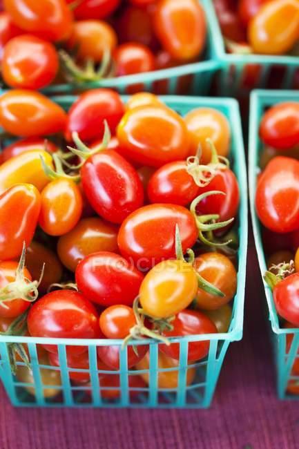 Органічних помідорів чері — стокове фото