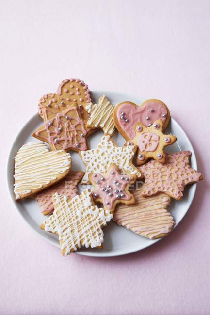 Biscotti di Natale assortiti — Foto stock