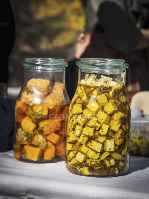 Georgischer guda-käse — Stockfoto