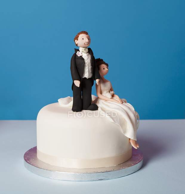 Small wedding cake — Stock Photo
