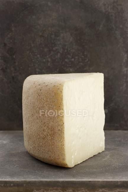 Кусок сыра пекорино — стоковое фото