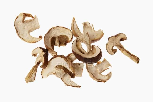 In Scheiben geschnittenen Steinpilze getrocknet — Stockfoto