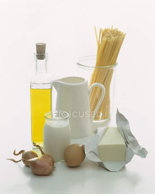 Still life di prodotti alimentari — Foto stock