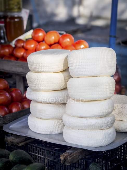 Georgische Imeruli Käse — Stockfoto