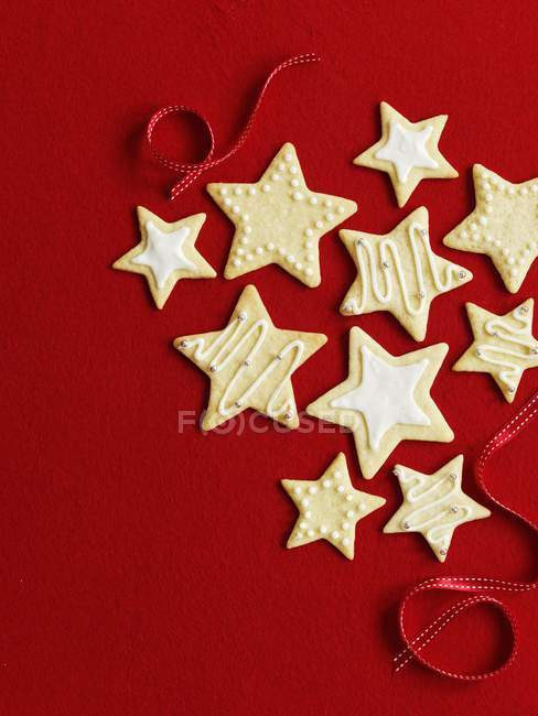 Biscotti della stella di Natale — Foto stock