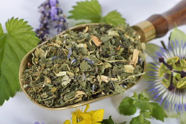 Mélange pour tisane, — Photo de stock