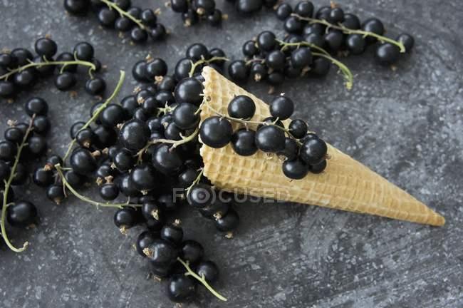 Конус мороженого — стоковое фото